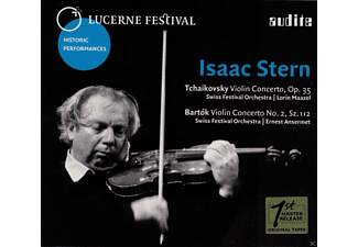 Lorin Maazel, Isaac Stern, Swiss Festival Orchestra - Violin Concertos - (CD)