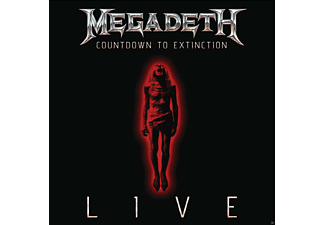 Megadeth - COUNTDOWN TO EXTINCTION - LIVE - (CD)