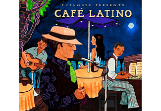 VARIOUS - Cafe Latino - (CD)