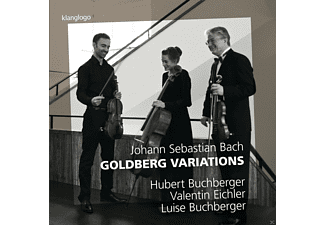 Hubert Buchberger, Valentin Eichler, Luise Buchberger - Goldberg-Variationen - (CD)