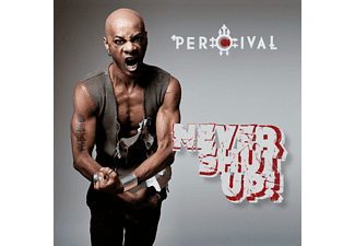 Percival - NEVER SHUT UP! [CD]