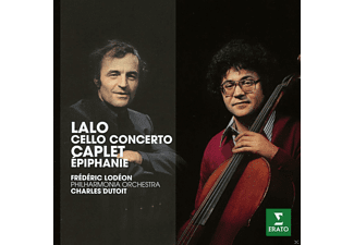 Frederic Lodeon, The Philharmonia Orchestra - Lalo: Cello Concerto / Caplet: Epiphanie Für Cello Und Orchester [CD]