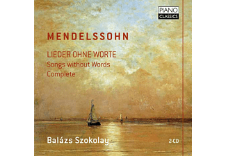 Balazs Szokolay - Mendelssohn: Lieder Ohne Worte - Songs Without Words - (CD)