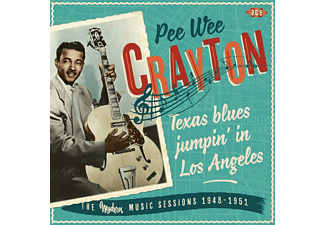 Pee Wee Crayton - Texas Blues Jumpin' In Los Angeles [CD]