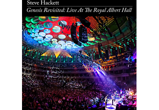Steve Hackett - Genesis Revisited: Live At The Royal Albert Hall - (CD + DVD Video)