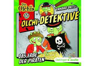 Wolf Frass - Olchi-Detektive 10: Das Erbe der Piraten - (CD)