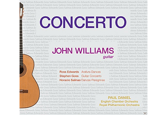 John Williams, Horacio Duran, Richard Harvey, English Chamber Orchestra, Royal Philharmonic Orchestra - Gitarrenkonzerte - (CD)