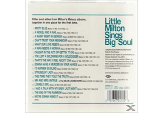 Little Milton - Sings Big Soul [CD]