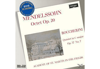 Various, Neville/Amf/+ Marriner - Oktett Op.20/Quintett Op.37 - (CD)