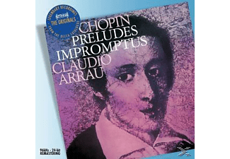 Claudio Arrau - Preludes/Impromtus - (CD)