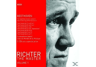 Sviatoslav Richter, Richter Svjatoslav - Richter-The Master Vol.1 - (CD)