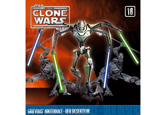 Star Wars - The Clone Wars 16: Grievous' Hinterhalt / Der Deserteur - (CD)