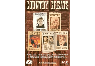 VARIOUS - Country Greats - (DVD)