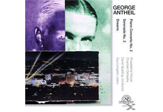 Livingstone & Philadelphiavirtuosi - George Antheil: Dreams (1935), Piano Concerto No. 2 (1926-7) - (CD)