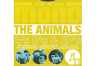 The Animals - A's, B's And Ep's (CD)