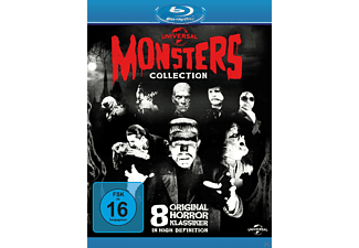 Universal Classic Monster Collection Bluray Box - (Blu-ray)