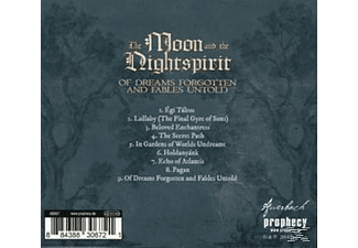 The Moon And The Nightspirit - Of Dreams Forgotten And Fables Untold (Re-Release) [CD]