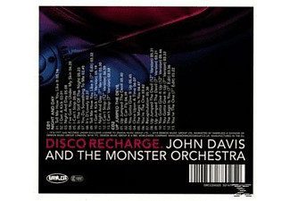 John & The Monster Davis - Disco Recharge: Night And Day/Up Jumped The Devi [CD]