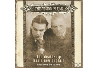 The Vision Bleak - The Deathship Has A New Captain - (CD)