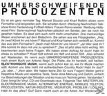 Umherschweifende Produzenten - Elektronische Mu...