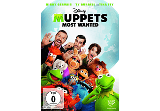 Muppets Most Wanted - (DVD)