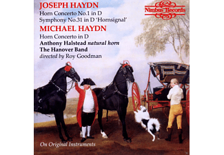Anthony Halstaed, The Hanover Band - Horn Concertos - (CD)