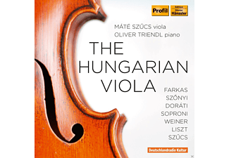 Oliver Triendl, Mate Szucs - The Hungarian Viola - (CD)