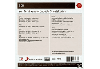 Yuri Temirkanov - Yuri Termirkanov Conducts Shostakovitch - (CD)