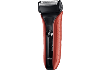 BRAUN WaterFlex WF2s röd Wet and Dry Rakapparat