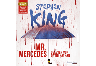 Mr. Mercedes - 3 MP3-CD - Krimi/Thriller