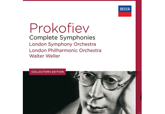Walter Weller, London Symphony Orchestra, The London Philharmonic Orchestra - Prokofjew: Complete Symphonies [CD]