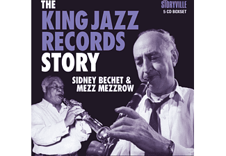 Sidney Beschet Mezz Mezzrow - The King Jazz Records Story (5 CD Box) - (CD)