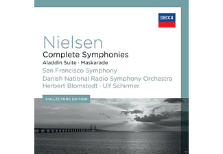 VARIOUS, Danish National Radio Symphony Choir, Danish National Radio Symphony Orchestra, San Francisco Symphony Orchestra - Complete Symphonies / Aladdin Suite / Maskarade - (CD)
