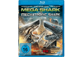 Mega Shark vs. Mechatronic Shark - (Blu-ray)