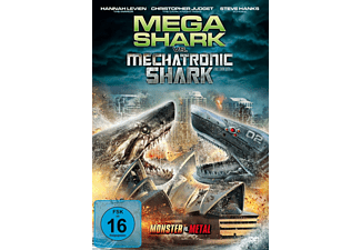 Mega Shark vs. Mechatronic Shark [DVD]
