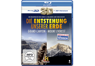 Die Entstehung unserer Erde - 3D: Grand Canyon – Mount Everest [3D Blu-ray (+2D)]