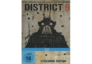 District 9 (Steelbook Edition) [Blu-ray]