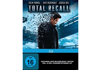 Total Recall (Steelbook Edition Director's Cut + Kinoversion) - (Blu-ray)