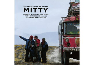 Theodore Shapiro, Jose Gonzalez - The Secret Life Of Walter Mitty (Ost) [CD]