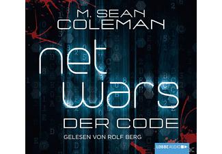 M.Sean Coleman - Netwars-Der Code - (CD)