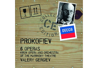 Valéry Gergiev - 6 Operas - Krov Opera And Orchestra Of The Marinsky Theatre [CD]