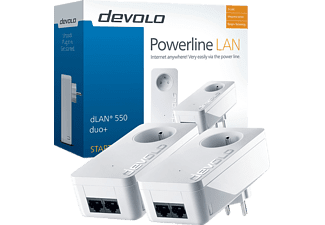 DEVOLO dLan 550 Duo+ Kit de démarrage (9300)