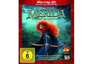 Merida - Legende der Highlands 3D - (3D Blu-ray)