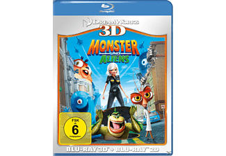 Monster und Aliens - (3D Blu-ray)
