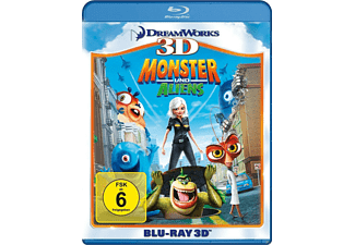 Monster und Aliens [3D Blu-ray]