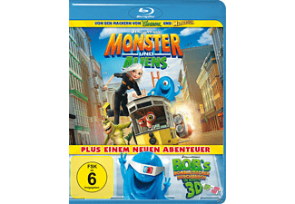 Monster und Aliens - (Blu-ray)
