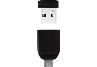 VERBATIM 49820 Store 'n' Stay + OTG Adapter, USB-Stick, USB 2.0, 8 GB