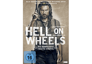 Hell on Wheels - Staffel 2 - (DVD)