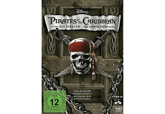 Pirates of the Caribbean 1 - 4 [DVD]