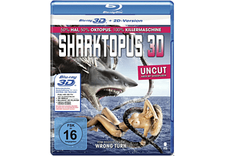 Sharktopus (Uncut, 3D) - (3D Blu-ray)